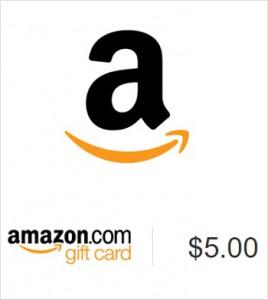 5 Dollar Amazon Gift Card