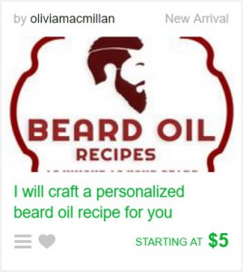 Custom Beard Oil Recipe Fiverr Gig