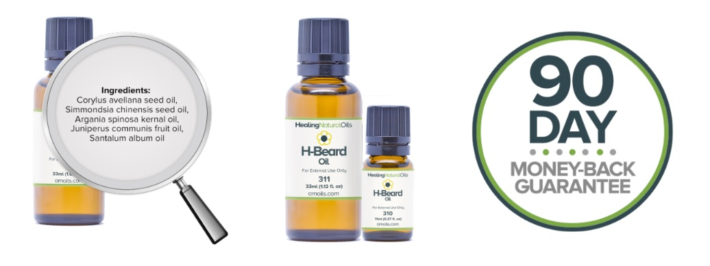 Natural Healing Oils H-Beard from amoils.com