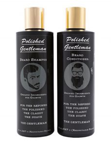 2 bottles of beard shampoo & conditioner