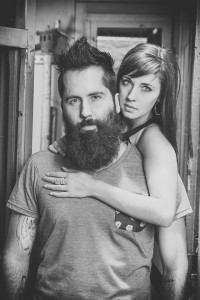 Bearded Man and Woman