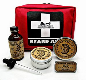 Honest Amish Beard Oil Kit
