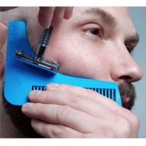 Beard Bro Beard Shaping Tool Beard Trim Template Beard Modelling Tool Beard Styling Tool