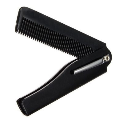 Foldable Pocket Beard and Moustache Comb – On The Go Hair and Beard Comb