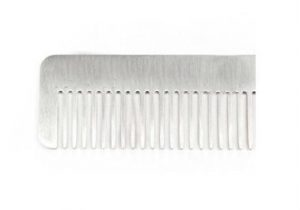 Beard Brushes and Combs - Metal Beard Comb