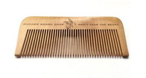 Beard Brushes and Combs - Wood Beard Comb