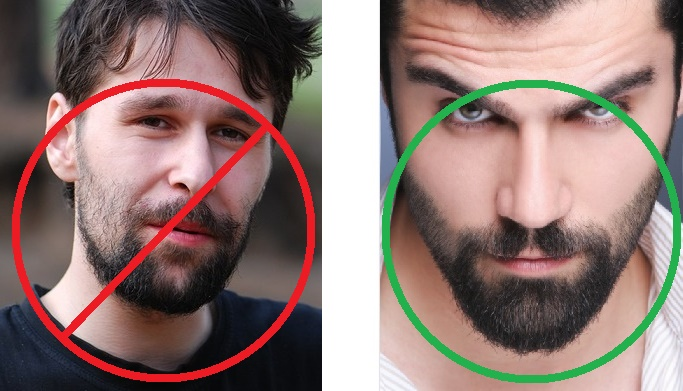 How To Shave A Beard Line or Neckline - cheek line