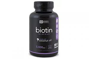 biotin hair skin and nail supplement